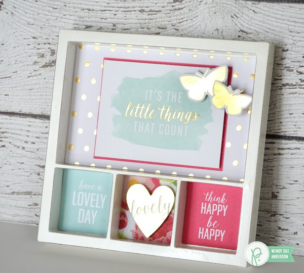 """Favorite Phrases"" Gift projects by @wendysueanderson with the ""Everyday"" collection by #JenHadfield for @pebblesinc."