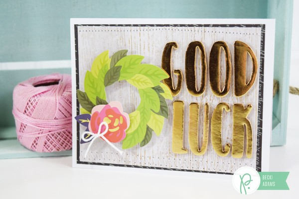 Good Luck cards by @jbckadams for @Pebblesinc