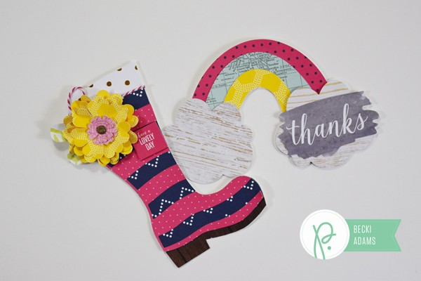DIY Shaped Spring Cards by @jbckadams for @pebblesinc and @tatertotsandjello