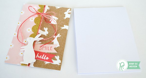 """Easter Card set by @Wendysue with the """"Spring Fling"""" collection by @pebblesinc."""
