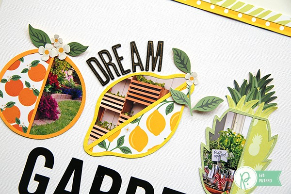 Garden Layout by @evapizarrov using the new #Everyday collection by @pebblesinc and @tatertotsandjello