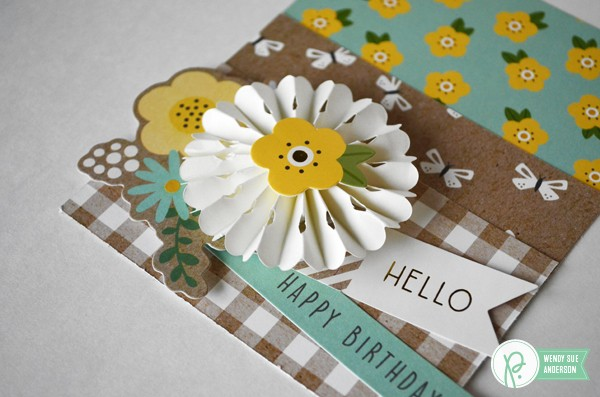 "Garden Flower cards by @wendysue featuring the ""Spring Fling"" collection by @pebblesinc"