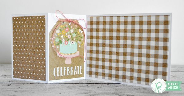 """Weekend Wedding Cards by @wendysue with the """"Spring Fling"""" collection by @Pebblesinc"""