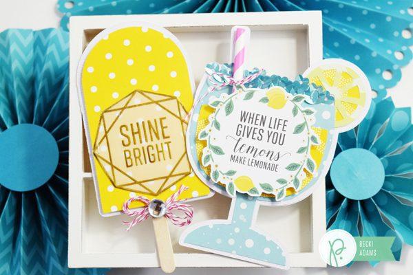 Summer Card by @jbckadams for @pebblesinc #summer #handmadecards #pebblesinc