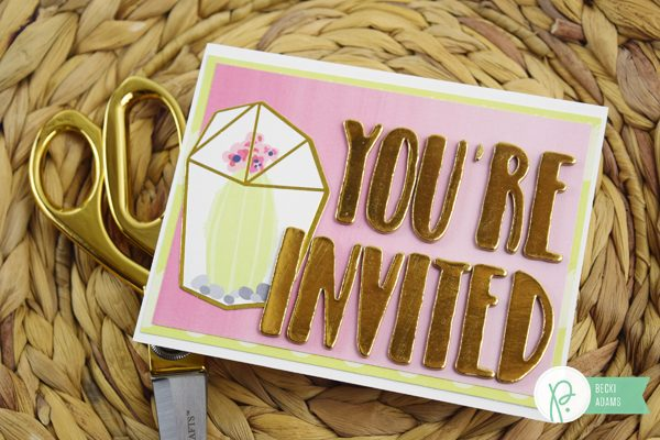 Becki Adams_Summer Party Invitation Set_2