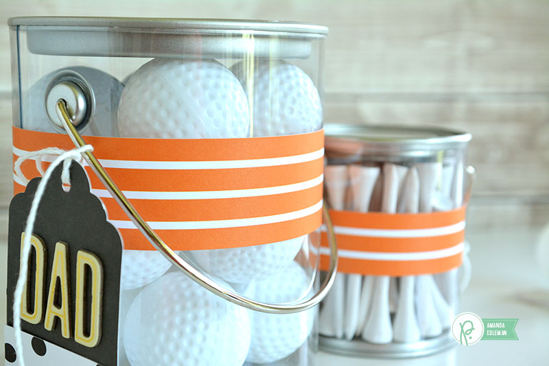 Father's Day Golf Gift by @amanda_coleman1 using @pebblesinc Everyday collection