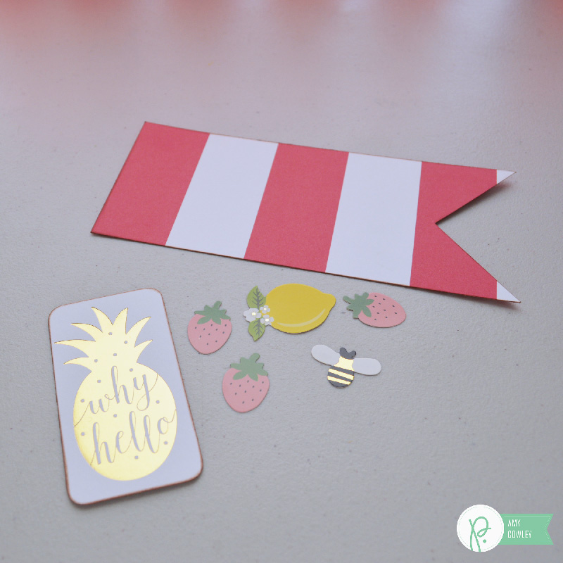 Dress up the drinks for your next get together using the #jenhadfieldeveryday collection and this tutorial from @thehappyscraps on the @pebblesinc blog.