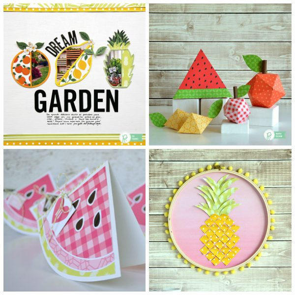 Fruit Themed Projects with @pebblesinc lines