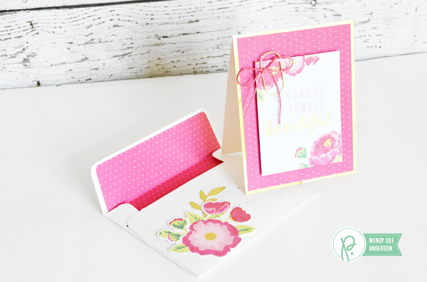 "Pink Cards and Lined Envelopes by @wendysue with the """"Everyday"" collection by @Pebblesinc."