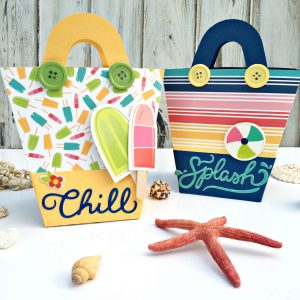 Beach Gift Bags by Heather Leopard