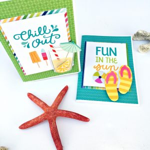Beach Gift Mini Album by Heather Leopard