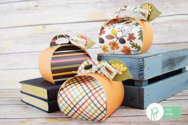 DIY Fall Party Favors by @jbckadams for @Pebblesinc #papercrafting #autumn #pebblesinc #fallpartyfavors #DIY