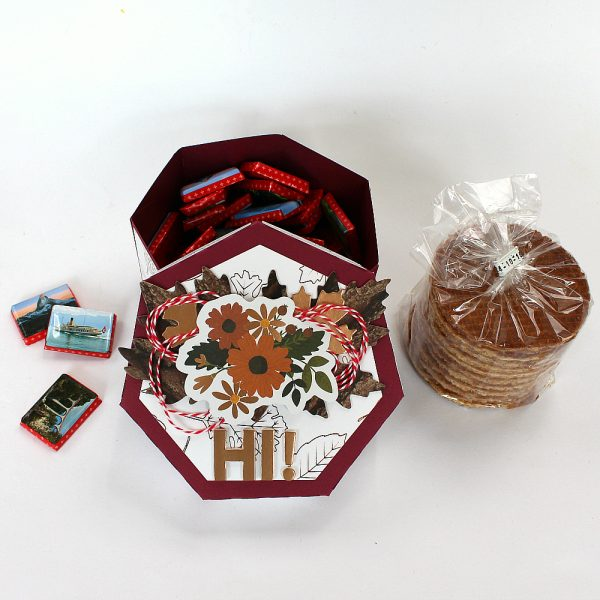 Gift Box Set by @moniqueliedtke using the #WarmAndCozy collection by @PebblesInc.