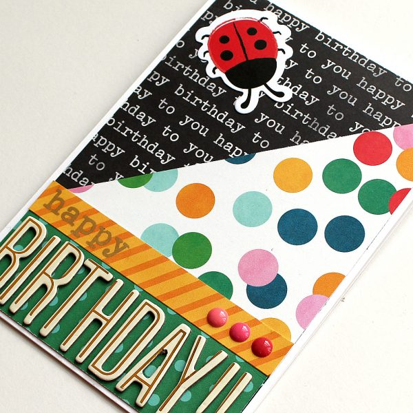 Fun Birthday Cards by @moniqueliedtke using the #birthday_wishes collection from @PebblesInc.