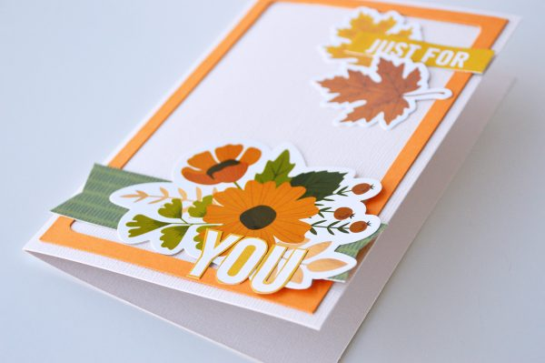 A set of cards inspired with fall colors from the new @PebblesInc #WoodlandForestCollection by @leanne_allinson will have you recreating your special memories with paper and ephemera!