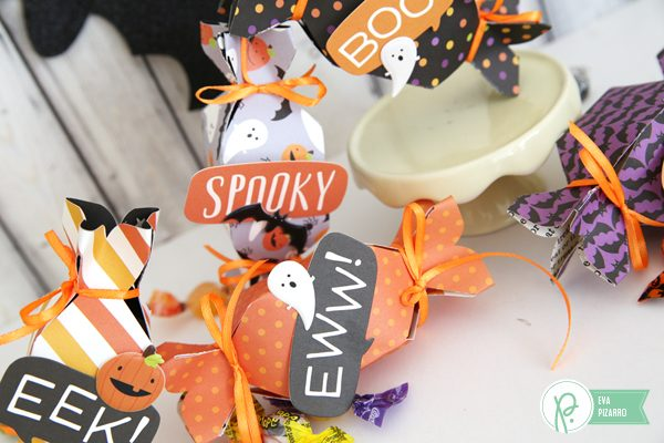 Create quick and easy treats in minutes with this tutorial from @evapizarrov and the new #TrickorTreat Collection by @pebblesinc
