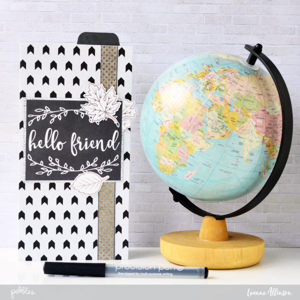 Create your own slim line travel planner with @leanne_allinson using @PebblesInc #warmandcozy collection.