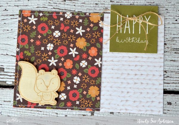 How to organize your homemade cards by @wendysue for @PebblesInc