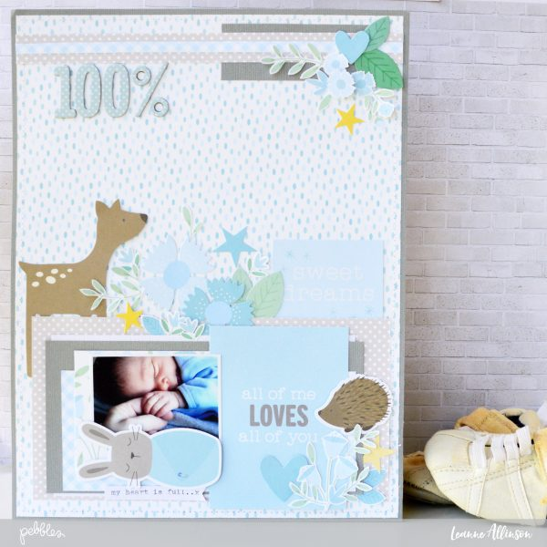 Document all your new born photos with the stunning new #lullabycollection from @PebblesInc and as shared by @leanne_allinson.