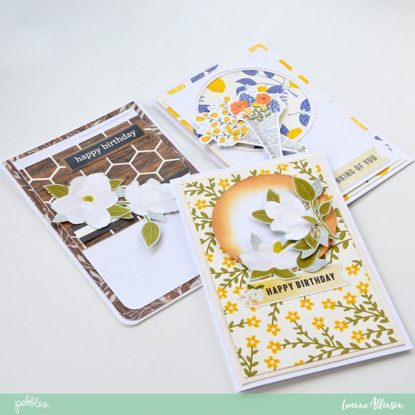 Creating cards with @PebblesInc #SimpleLifecollection.