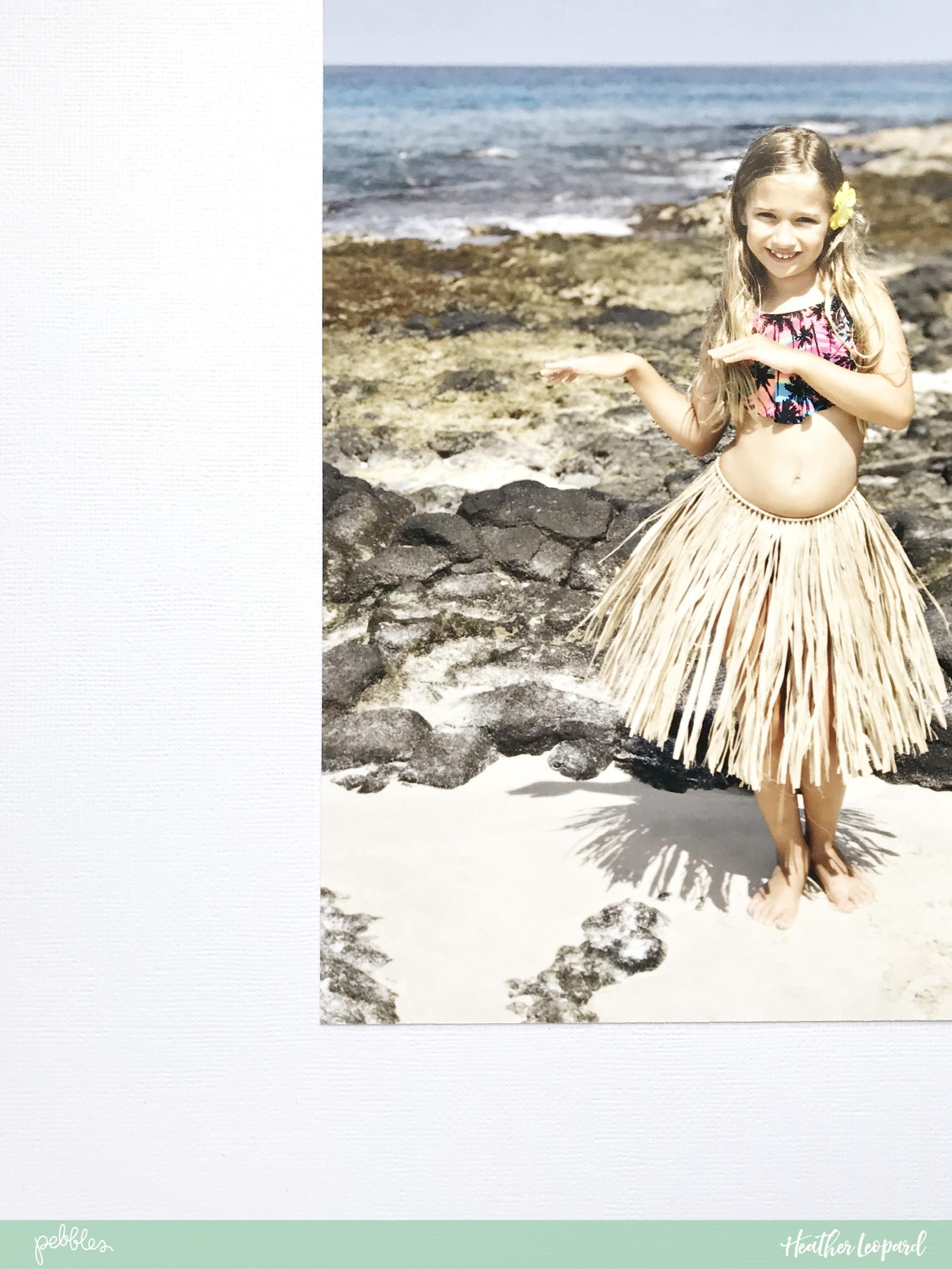 Aloha heart and free cut file by Heather Leopard using @PebblesInc #SunshinyDays collection #scrapbook #summer #scrapbooking #hula #madewithpebbles #aloha #hawaii