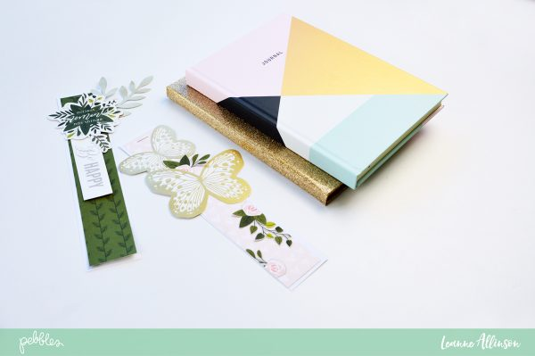 Create your own bookmarks using @PebblesInc Heart of Home collection as shared by @leanne_allinson.