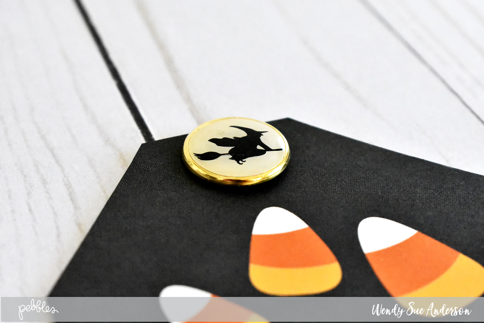 "DIY Halloween Treat Boxes by @WendySue with the ""Midnight Haunting"" Collection by @PebblesInc."
