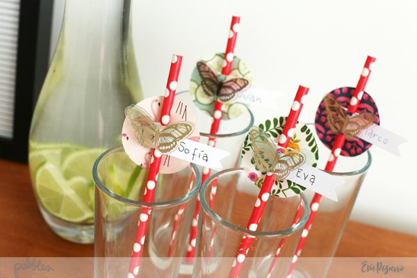 Decorate your next party with these easy decorations made by @evapizarrov using @pebblesinc new line #PatioParty #pebblesinc #madewithpebbles