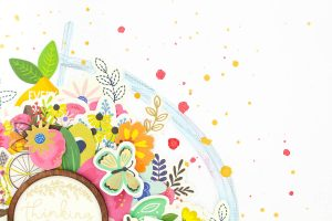 Zinia here... and I LOVE the My Bright Life Collection from Jen Hadfield!