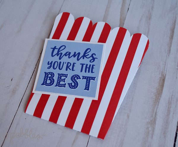 teacher thank you gift card holder by wendy sue anderson for @pebblesinc featuring the bigtop dreams collection