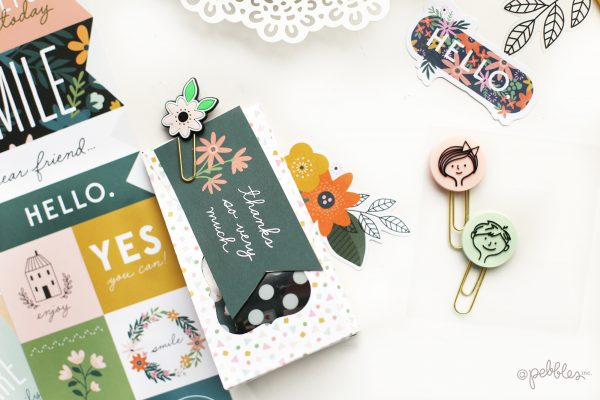 "create quick and easy gift boxes for your kid's teacher with this tutorial from @evapizarrov using the new @pebblesinc line ""This Is Family"""