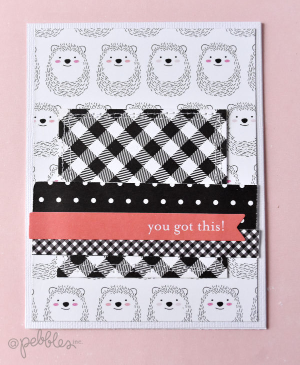 """Hey Hello"" Invitation and Variation by Wendy Sue Anderson for @PebblesInc."