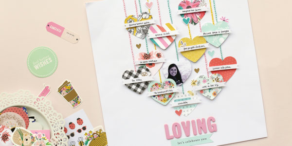 Create a layout with all your favorite things following this tutorial from @evapizarrov using the Hey, Hello! line from @pebblesinc