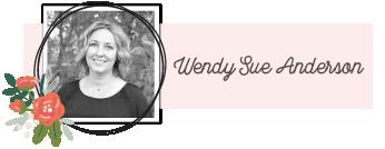Wendy Sue Anderson