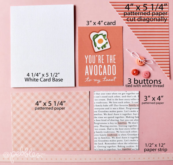 Monochromatic card set by Wendy Sue Anderson for @PebblesInc.